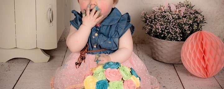 A Smashing Good Time: Cake Smash Photo Shoots for First Birthdays