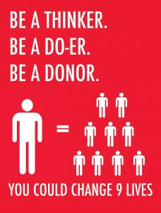 Things to do on your birthday- Become an organ donor and save 9 lives