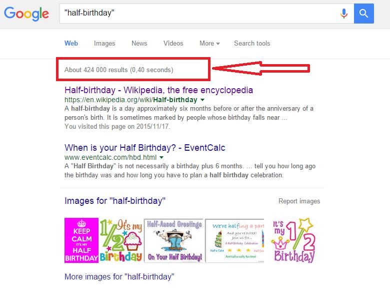 Half Birthdays | Birthday Mates